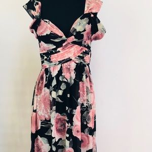 Lulus Semi Formal floral dress